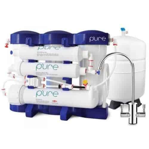 7 ступенчатая система с минерализатором и ионизатором