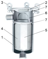 Фильтр мешочного типа MBH-04 Фильтр мешочного типа mbh-04