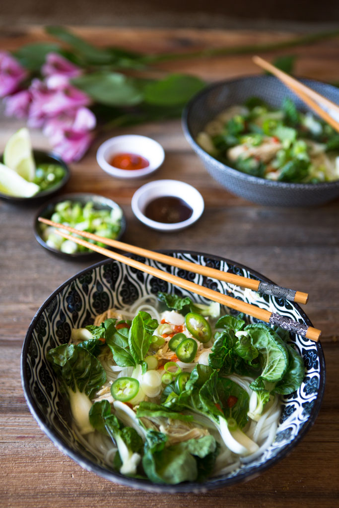 Easy Weekday Chicken Pho only looks and tastes like it took you all day to make.