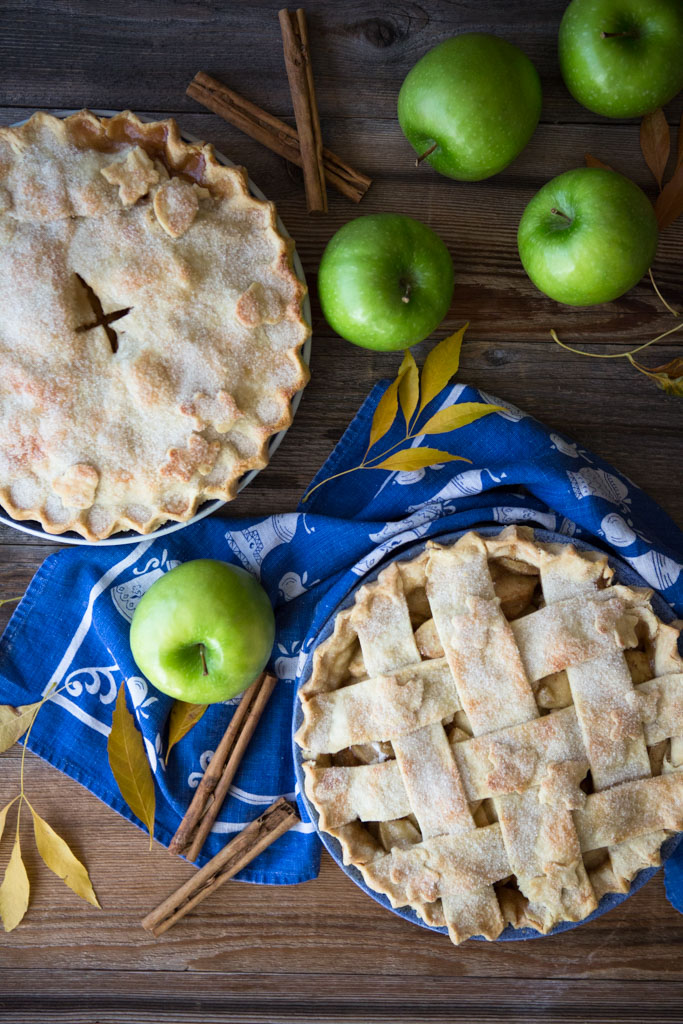 A tender, flaky crust and a perfect balance of sweet and tart apple filling make this my favorite apple pie.