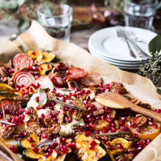 Favorite Holiday Nosh Platter With Spiced Pecans