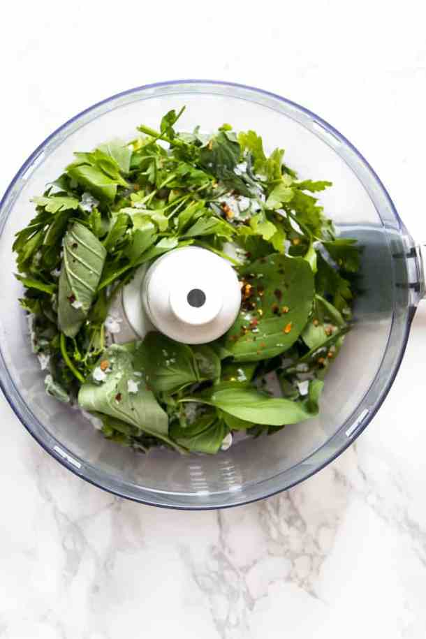 Chimichurri Sauce Healthy and easy to make bursting with flavour.