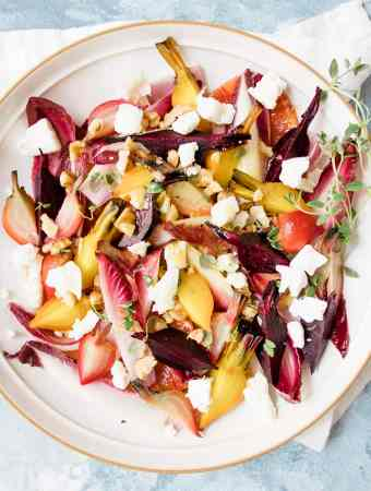 Autumn Citrus Beetroot and Goat's Cheese Salad