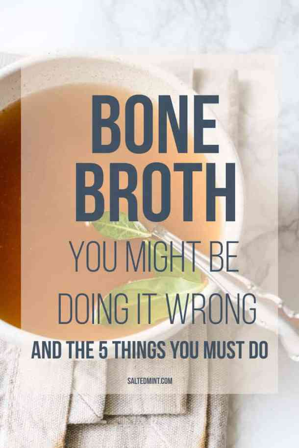 How To Make Bone Broth. A 5 step guide to getting the best from your broth and some of the main health benefits.
