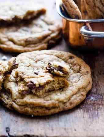 Cardamom Chocolate Chip Cookies