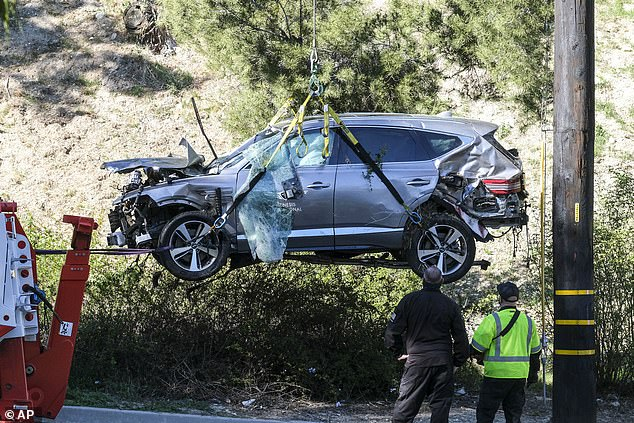 Villanueva stressed that the champion golfer received no special treatment from his agency after crashing his loaned SUV in the Rancho Palos Verdes suburb of LA on February 23