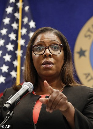 Attorney General Letitia James, left, issued an alarming report in January that the Health Department had under-counted nursing home deaths