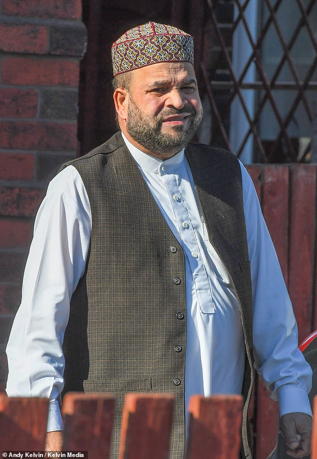 Abdul Rauf in Rochdale back in 2019 wearing exactly the same clothes as he sported this week