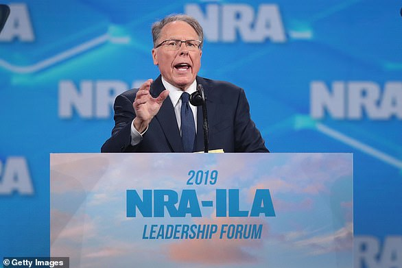 Wayne LaPierre, the CEO of the National Rifle Association, frequently sought refuge on a friend's yacht when he received threats in the wake of a mass shooting, a deposition reveals
