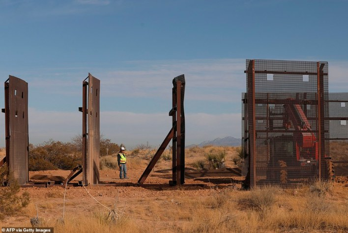 Many illegal immigrants are able to easily cross through areas of the border where barriers were left incomplete