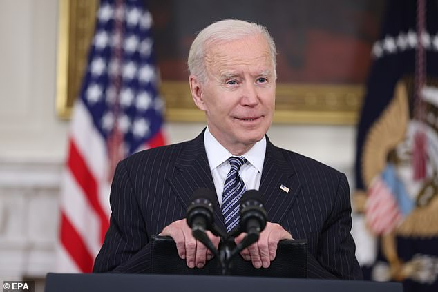 President Joe Biden said that Georgia and other statescontemplating 'Jim Crow'-like voting laws needed to 'smarten up.' He answered reporters' questions after delivering remarks Tuesday on the COVID-19 vaccination effort