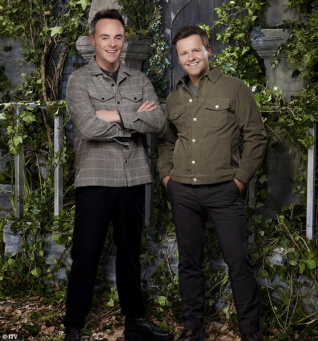 The suspects had botched an attempt to rip open the iron gates at the front of the property - which was purchased by Mr Donnelly (pictured with TV partner Ant McPartlin) for £1.9million in 2006