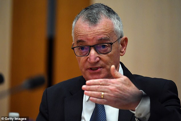 Ms Holgate attacked Australia Post chairman Lucio Di Bartolomeo (pictured) in a blistering submission to a Senate inquiry, accusing him of lying to parliament
