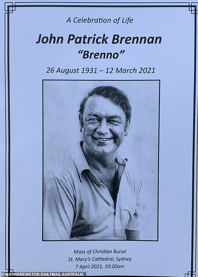 Broadcasting kingmaker John 'Brenno' Brennan, 89, died in Sydney on March 12