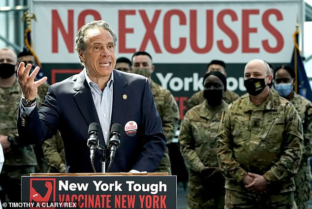 New York Gov. Andrew Cuomo signed a bill into law on Tuesday that repeals legal immunity that the state had granted to nursing homes during the pandemic