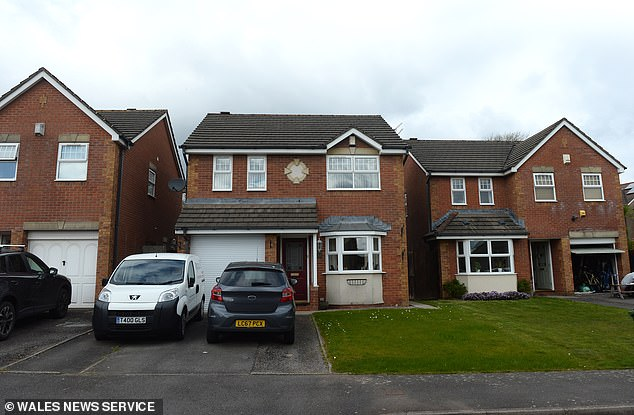 The£300,000-plus house in a suburban cul-de-sac on the outskirts of Cardiff, Wales, is set to be destroyed to make way for a cycle lane