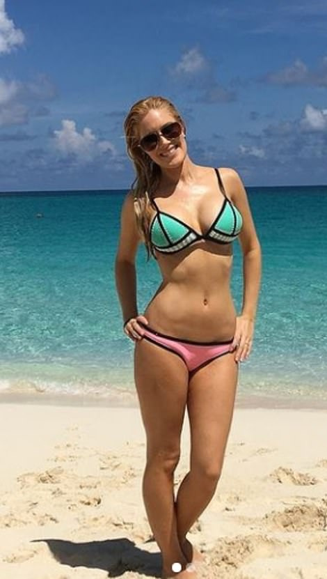 In January, reality star Heidi hit the beach was she rented a beachfront house in Carpinteria with husband Spencer Pratt and their son Gunner but pap pictures taken at the beach appeared quite different from images shared on Heidi's own page