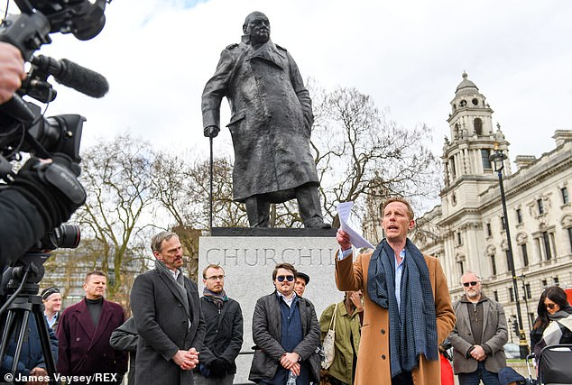 London Mayoral hopeful Laurence Fox today vowed to ban Covid passports in the capital and promised a 'no-mask mandate' as he launched his manifesto