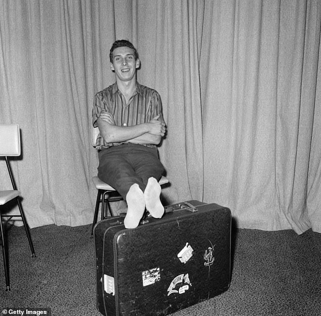 In 1965, 19-year-old Brian Robson, from Cardiff, was unable to afford the airfare to travel from Melbourne back to his home in the UK
