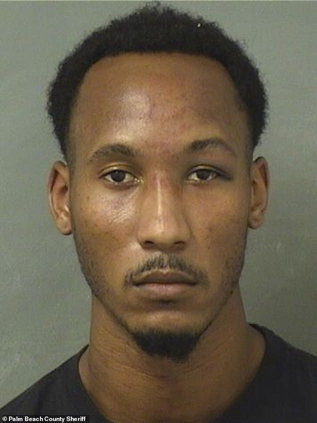 Ex-NFL receiver Travis Rudolph has been arrested in Florida on charges of first-degree murder and attempted first-degree murder. He's being held in Palm Beach County Jail without bond