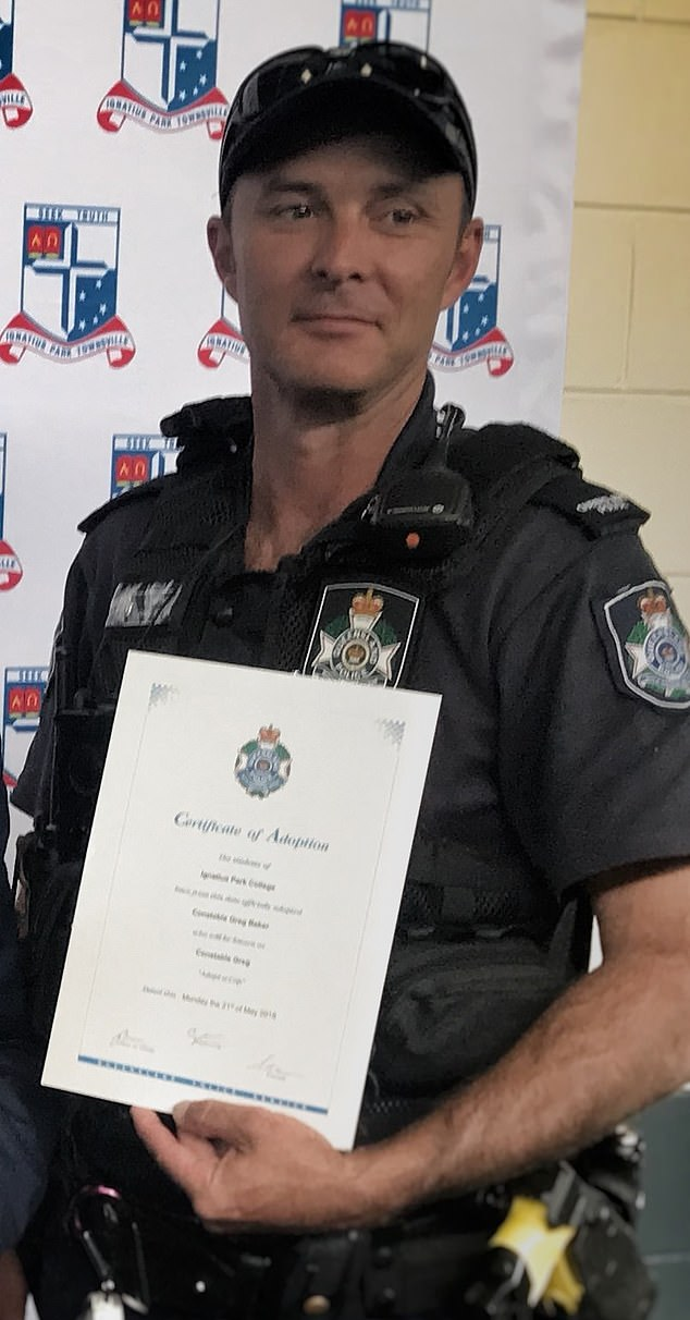 Townsville cop Greg Baker, 44, allegedly killed the four pets - Cheeko, Jelly Bean, Nacho and Spud - after they wandered near his property in July, 2020