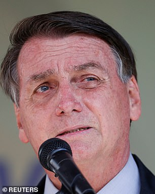 Bolsonaro has continued to play down risks from the virus, even as the senate opened an inquiry into his handling of the pandemic