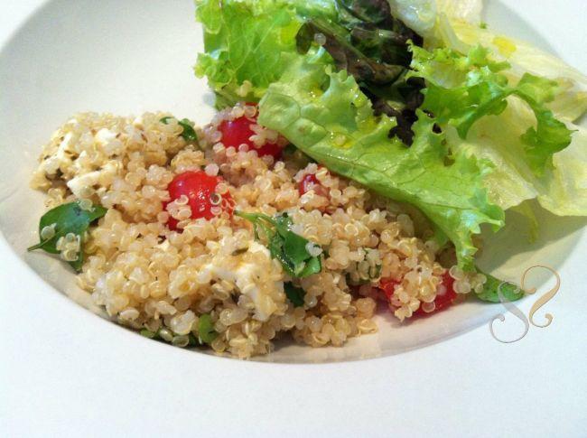 Salada de Quinoa Caprese