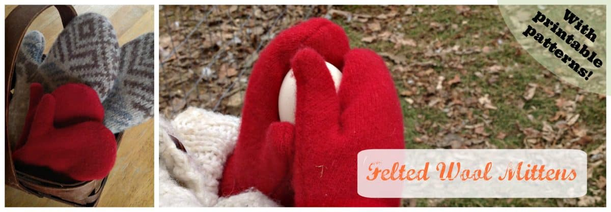 1a2382c3e How to Make Mittens From a Sweater - Celebrating a Simple Life