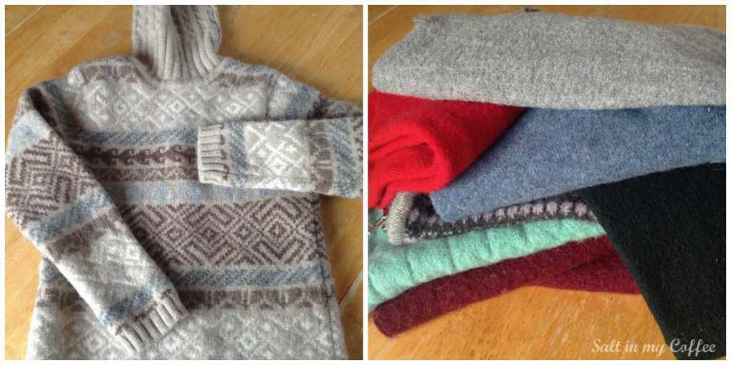 how to make mittens out of sweaters