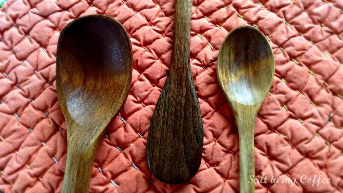Spoons polished