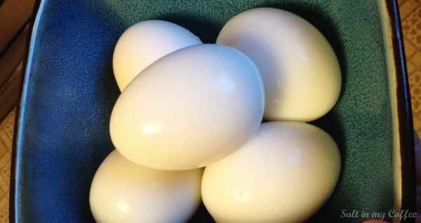how long to boil duck eggs