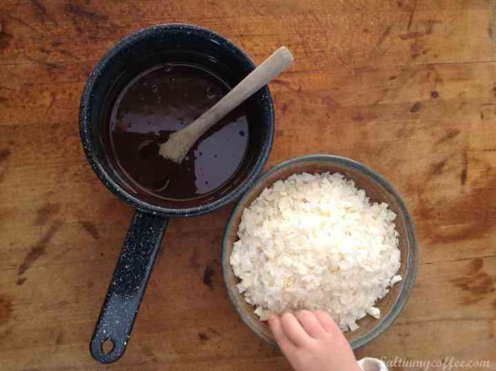 paleo dark chocolate pecan haystacks