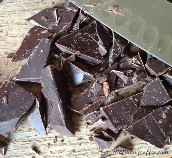 chocolate covered grain free granola bars