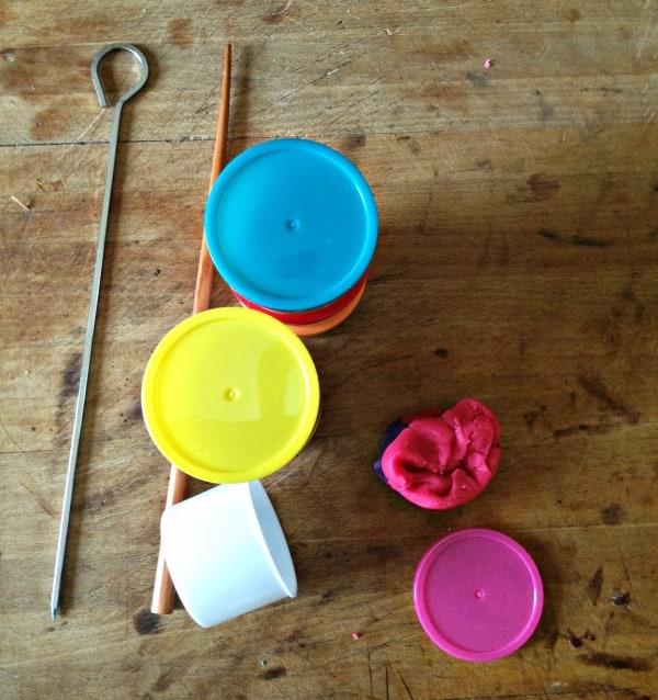 play dough beads diffuser bracelet