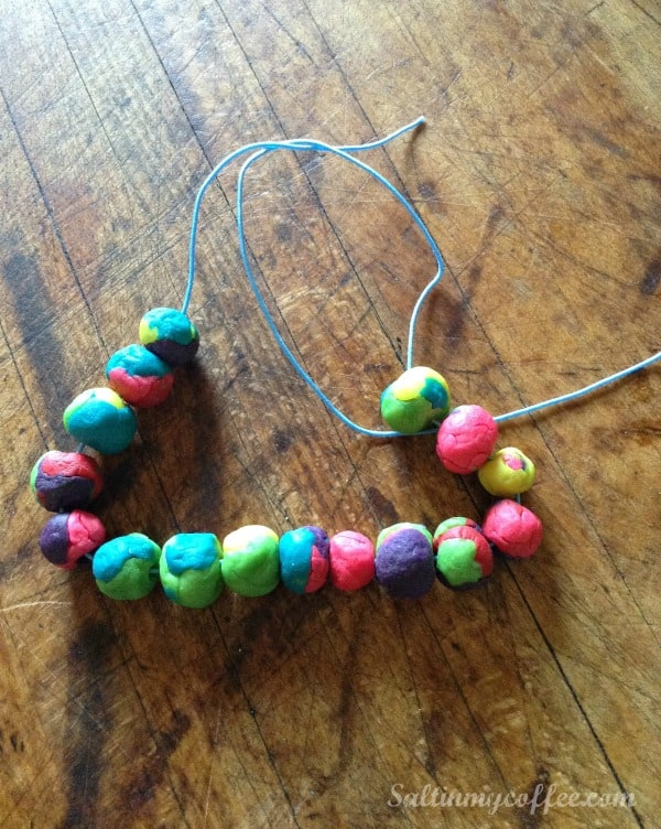 play dough diffuser bracelet