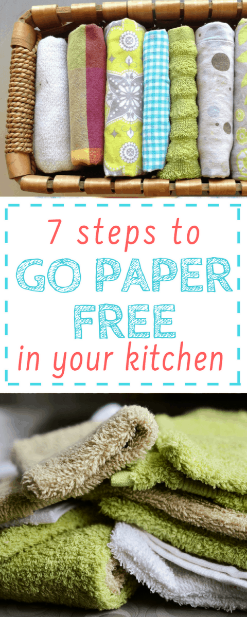 Keeping a paper free kitchen saves so much money! Super helpful list here with steps for getting started.
