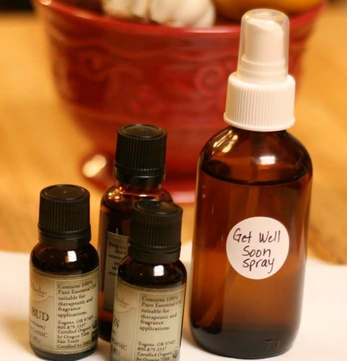 DIY antimicrobial spray