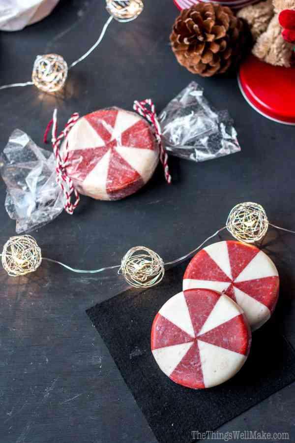 Christmas Candy handmade Christmas soap recipes
