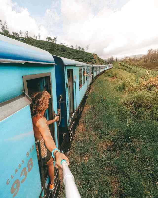 Image result for KANDY TO NUWARAELIYA TRAIN RIDE