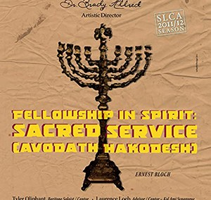 Fellowship in Spirit: Sacred Service (Avodath Hakodesh) – Ernest Bloch
