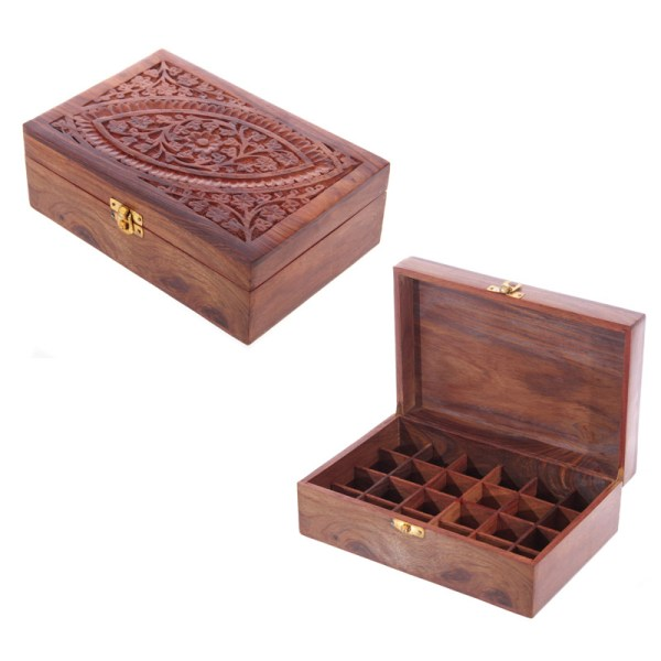 Sheesham Wood Essential Oil Box