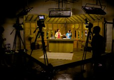 Cooking show set