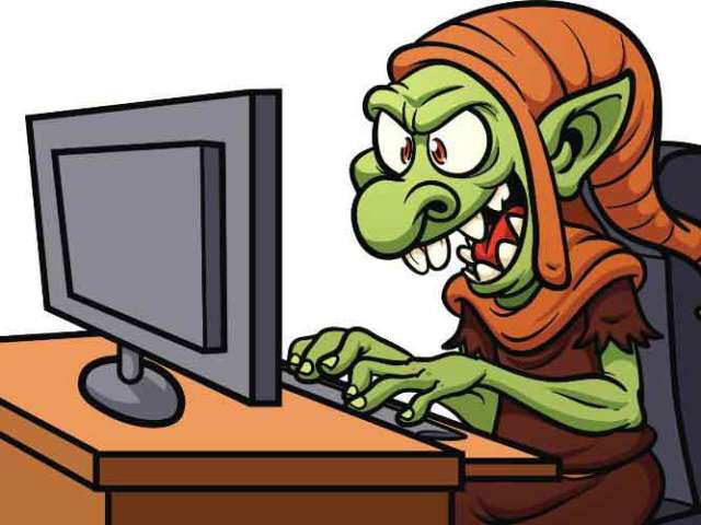 Denk zet trollen in om blogje kapotdood te maken