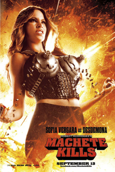 Sofia Vergara, de Modern Family a Machete Kills