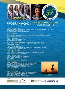 PMSJ-34B-218x300 34º ANIVERSÁRIO DE SALTO DO JACUÍ: Confira a programação