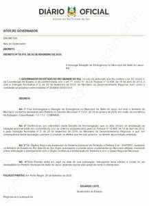 87991045_759783401096301_6183136628442136576_n-217x300 Governo do Estado do RS homologa Decreto Municipal n° 3.037/2020,de Situação de Emergência no município devido a estiagem prolongada.