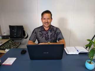 felipe Felipe Rosa é o secretário municipal de Mineração, Indústria, Comércio, Turismo e Desporto