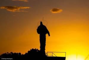 monumento-rodrigo-300x205 Monumento de Nossa Senhora dos Navegantes, padroeira de Salto do Jacuí. (foto: Rodrigo Rodrigues)
