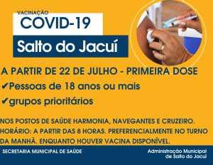 vacinacao-18-300x232 Vacinação contra Covid-19 para pessoas com 18 anos ou mais inicia dia 22/07