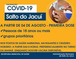 vacinacao-4-agosto-300x232 Retomada aplicação de primeira dose contra a Covid-19